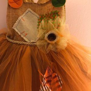 Pottery Barn Kids Costumes - EUC POTTERY BARN KID SCARECROW DRESS
